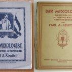 Der Mixologist von Carl A. Seutter, Erstausgabe von 1907 & 4 Ausgabe, Internationales Getränkebuch, Cocktail book, Cocktailbuch, Original, Bartender Guide