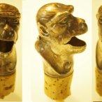 Ausgießer, Affe, ca. 1900 - 1910 - Bottle pourer, ape