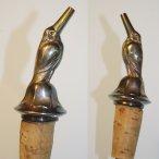 Flaschenausgießer Vogel - Bottle pourer bird silver