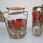 Cocktail Shaker Set mit Rezepten