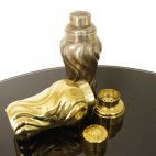 Cocktail Shaker, vergoldet / goldplated, 20´s / 30´s