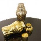 Cocktail Shaker, vergoldet / goldplated, 20´s / 30´s