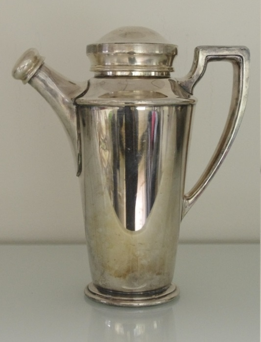 Cocktail Shaker, Reed and Barton, Vintage, 1920